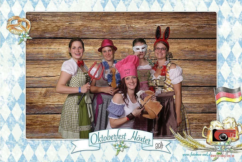 Greenscreen Fotobox Oktoberfest